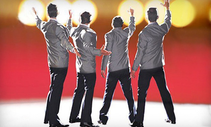 """""""Jersey Boys"""" - Atlantic-University: Performance of """"Jersey Boys"""" for Two at Rochester Auditorium Theatre (Up to 48% Off). 21 Options Available."""