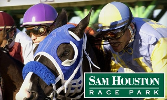 Sam Houston Race Park - Houston: $12 for Four General-Admission Tickets ($24 Value) or $200 for a Private Suite for Up to 20 People at Sam Houston Race Park ($400 Value)