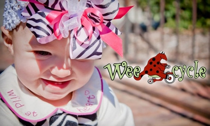 Wee-Cycle Children's Consignment and Boutique - Lincoln: $25 for $50 Toward Consignment and Handmade Clothing, Jewelry, Accessories, and More at Wee-Cycle Children's Consignment and Boutique