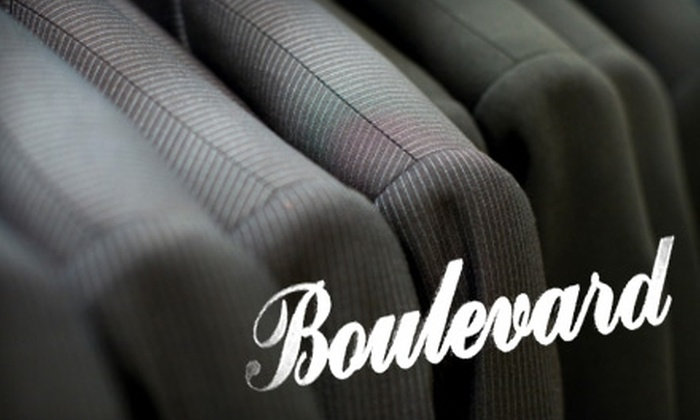 Boulevard Cleaners - Multiple Locations: $10 for $25 Worth of Dry Cleaning at Boulevard Cleaners. Choose From Two Locations.