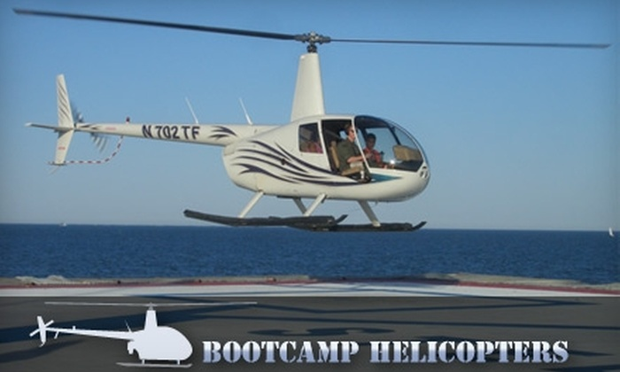 Bootcamp Helicopters - 5, Clarksville: $99 for One Seat on a Downtown Tour from Bootcamp Helicopters ($300 Value)