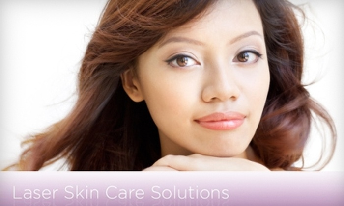 Laser Skin Care Solutions - Needham: $75 for DermaSound Facial ($150 Value) or $175 for 50 Units of Dysport ($350 value) at Laser Skin Care Solutions in Needham