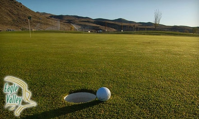 Eagle Valley Golf Course - Carson City: $25 for 18 Holes of Golf Plus a Cart, Lunch, Drink, Driving Range Tokens, and Advanced Tee Time at Eagle Valley Golf Course ($50 Value)