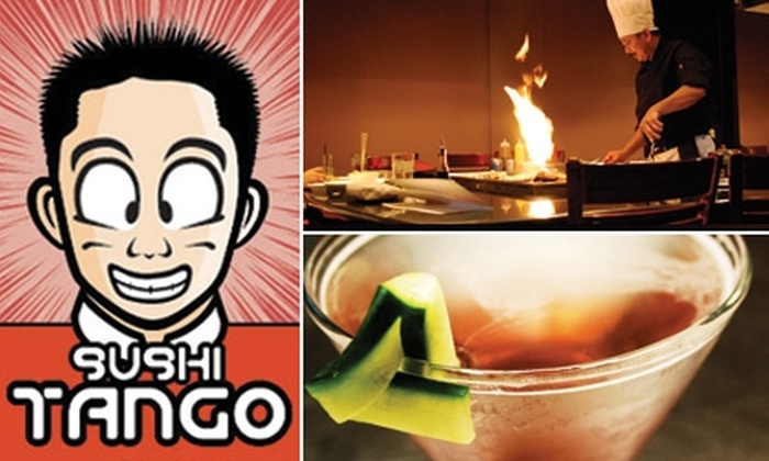 Sushi Tango - Uptown: $20 for $40 Worth of Hibachi-Style Fare at Sushi Tango Uptown