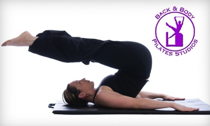 Back and Body Pilates Studios - Multiple Locations: Pilates or Rehab Fitness Programs at Back and Body Pilates Studio. Choose from Three Options.