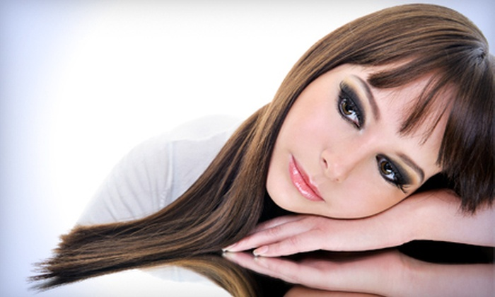 Extension Dreams Salon & Spa - Altos Del Mar: $79 for an Organic-Based Keratin Hair-Straightening Treatment at Extension Dreams Salon & Spa in Surfside ($200 Value)