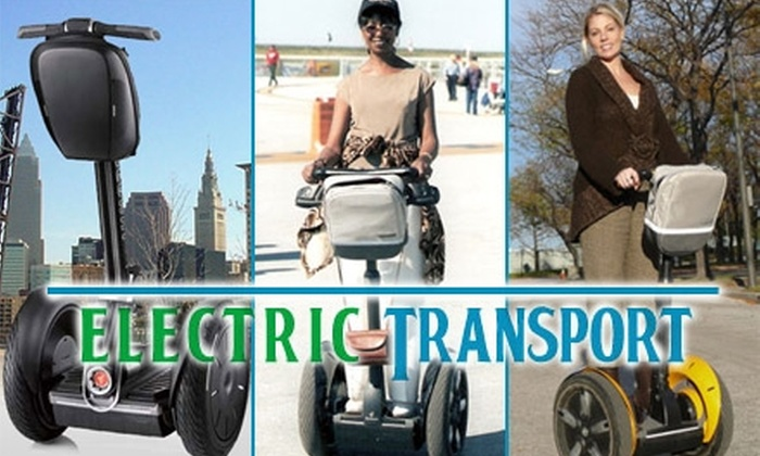 Electric Transport LLC - Downtown: $25 for a Downtown Segway Tour with Electric Transport, LLC (Up to $55 Value)