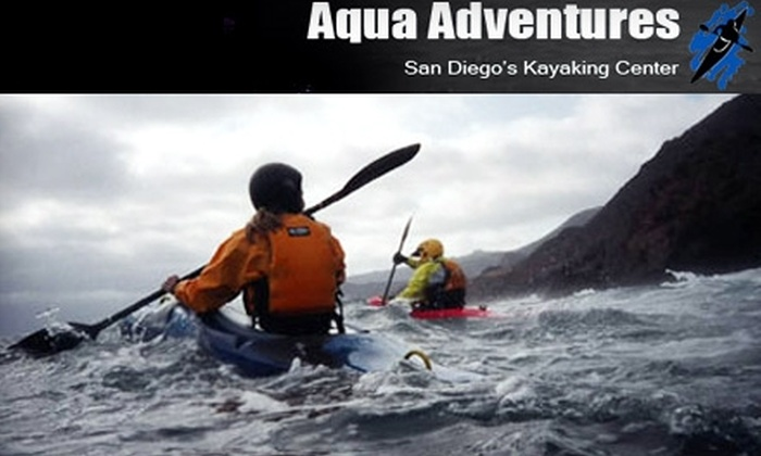 Aqua Adventures - Mission Bay Park: $10 for a One- to Two-Hour Single Kayak, On-Site Rental ($22.50 Value) or $49 for a Single Kayak, On-Site Rental Monthly Pass ($125 Value) from Aqua Adventures