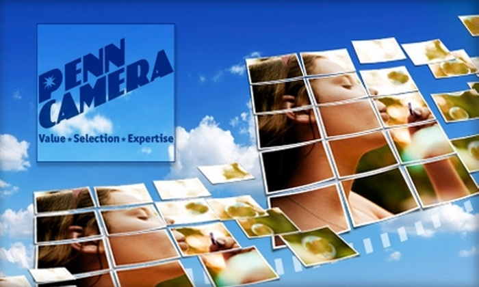Penn Camera - Multiple Locations: $20 for $40 Worth of Digital-Imaging Services at Penn Camera