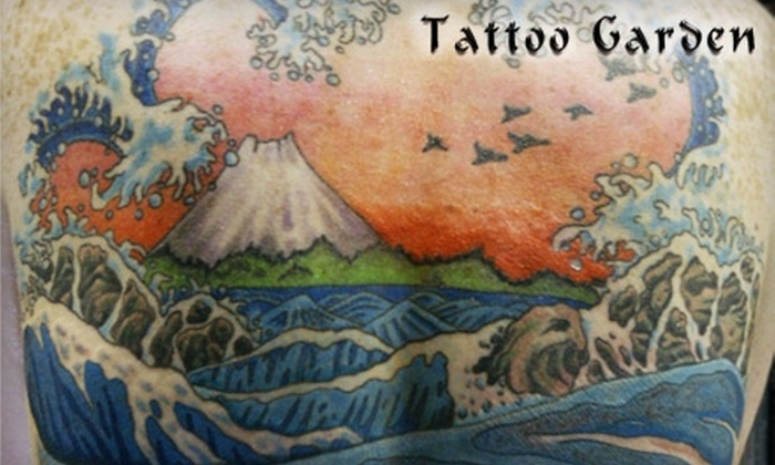 Tattoo Garden - Lowell: $54 for $110 Worth of Tattooing at Tattoo Garden in Everett