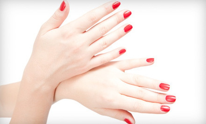 Salon Narcisse - Downtown Waxahachie: $17 for a Shellac Manicure at Salon Narcisse in Waxahachie ($35 Value)