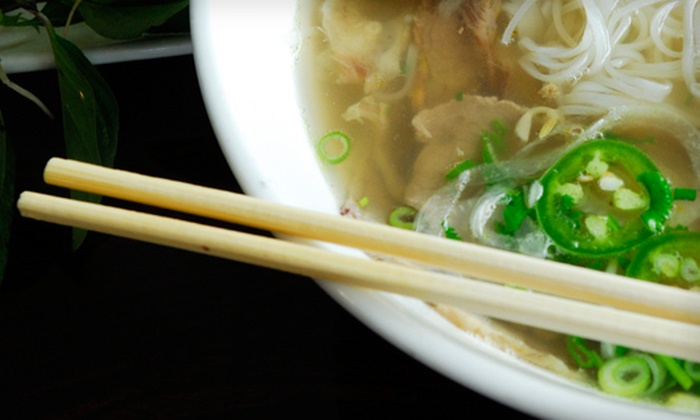 Saigon Hut - McIntyre Industrial: $10 for $20 Worth of Express Vietnamese Cuisine and Drinks at Saigon Hut