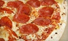 Stoggers' Pizza - Downtown: Pizza Meal with Garlic Fingers and Drinks for Two or Four at Stoggers' Pizza