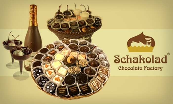 Schakolad Chocolate Factory - Far North Central: $10 for $22 Worth of Handmade Confections at Schakolad Chocolate Factory