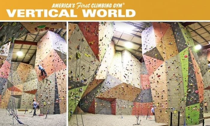 Vertical World - Interbay: Rock-Climbing Intro Class and Two Weeks of Climbing for Only $25