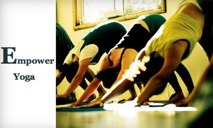 Empower Yoga Appleton - Downtown Appleton: $20 for a Five-Class Yoga Card at Empower Yoga Appleton