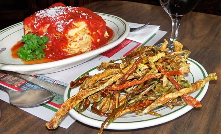 $30 Groupon for Italian Fare for Two Valid 11 AM - 10 PM on Tues.-Thurs. - Ristorante Attilio in Wilmington
