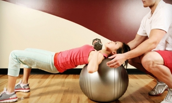 Lions Gym - St. Louis Park: $39 for Two 60 Minute Personal Training Sessions ($140 Value) at Lions Gym in St. Louis Park