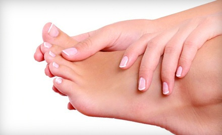60- to 90-Minute Express Mani-Pedi (a $45 value) - A Touch Of Class Day Spa in Orangevale