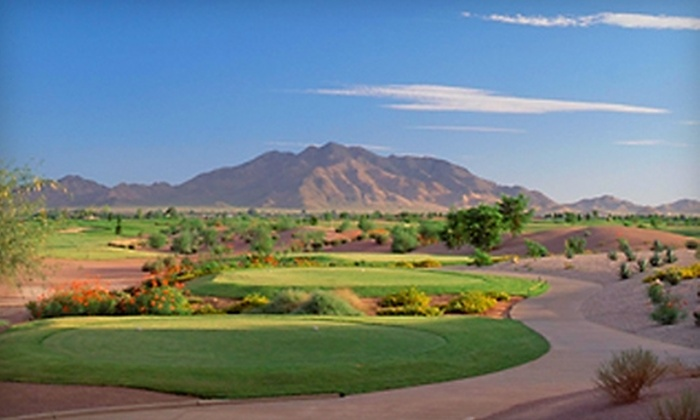 Trilogy Golf Club at Power Ranch - Trilogy: $39 for One Round of Golf, Golf Clinic, and Bag of Range Golf Balls at Trilogy Golf Club at Power Ranch in Gilbert (Up to $90 Value)