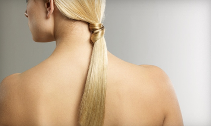 Kallos Hair and Skin - Old Irving Park: $150 for a Brazilian Blowout from Kallos Hair and Skin in Greensboro ($350 Value)