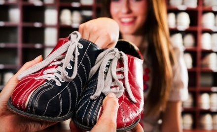 One or Two Hours of Bowling with Shoe Rental for Up to Four at Interstate Lanes (Up to 58% Off)