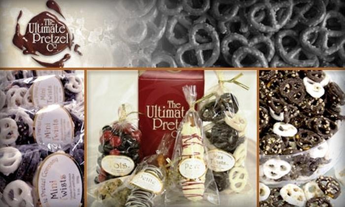 The Ultimate Pretzel Company - Green Oak: $15 for $30 Worth of Gourmet Pretzel Treats at The Ultimate Pretzel Company