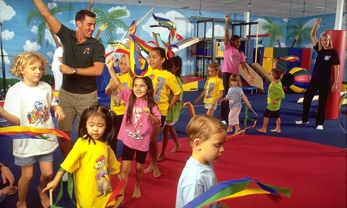 My Gym Children's Fitness Center - Chesterfield: $39 for Lifetime Membership and Four Weeks of Classes at My Gym Children's Fitness Center in Chesterfield ($120 Value)