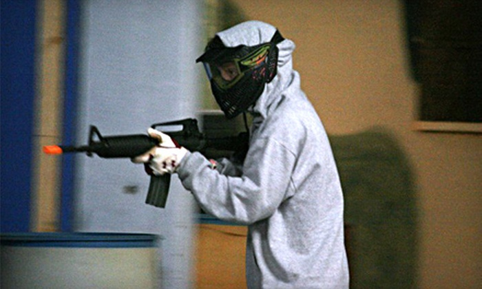 MooseHerd Airsoft - Dickson: All-Day Airsoft Play with or without Rental Equipment at MooseHerd Airsoft in Dickson (Half Off)