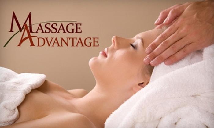 Massage Advantage - Multiple Locations: $29 for a 60-Minute Massage at Massage Advantage ($70 Value)