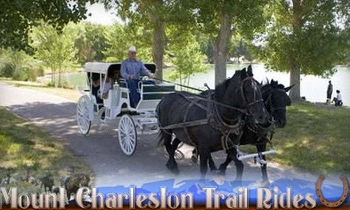 Mount Charleston Trail Rides - Clark: $15 for 30-Minute Carriage Ride with Mount Charleston Trail Rides ($30 Value)