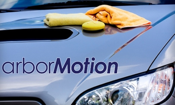 arborMotion - Bryant Pattengill West: $65 for a Deluxe Auto Detail Package ($149.95 Value) or $45 for a Four-wheel Alignment ($95 Value) at arborMotion