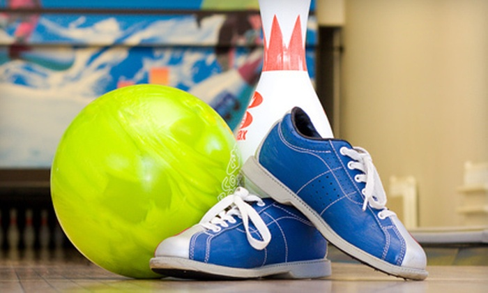 North Shore Bowl - North Vancouver: One or Two Hours of Five-Pin Bowling with Shoe Rentals for Up to Five at North Shore Bowl (Up to 56% Off)
