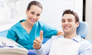 Studio Odontoiatrico Cavino: Pulizia denti e air flow più sbiancamento e brillantino