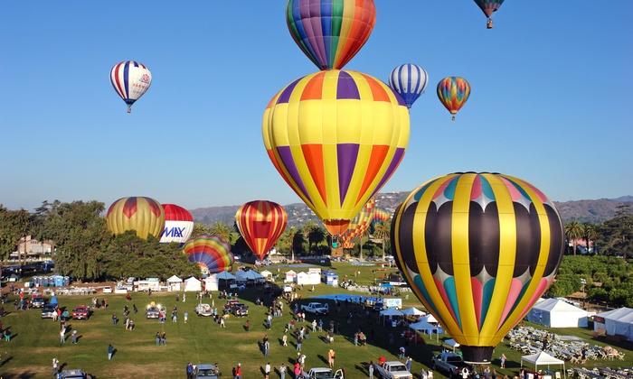 2014 Citrus Classic Balloon Festival - Santa Paula: 2014 Citrus Classic Balloon Festival on Friday, July 25 or Saturday, July 26 (Up to 32% Off)