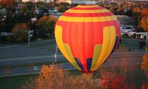 La Magie de l'Air: « Forfait magique » de vol en montgolfière pour 1 ou 2 personnes avec La Magie de l'air (jusqu'à 50 % de rabais)