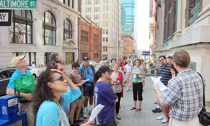 Baltimore Heritage - Baltimore: Behind the Scenes Tour for One, Two, or Four with One-Year Membership from Baltimore Heritage (Up to 71% Off)