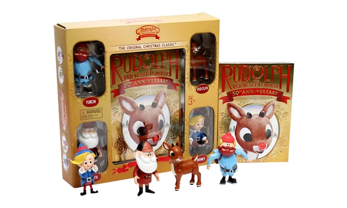 rudolph the red nosed reindeer 50th anniversary collectors edition