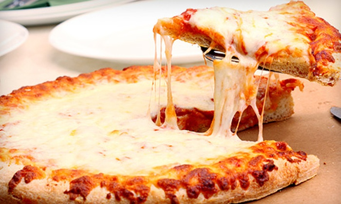 Nunzio's Pizzeria - Scotch Plains: Five or Ten Groupons, Each Good for One Large Plain Cheese Pizzas at Nunzio's Pizzeria (51% Off). Two Options Available.