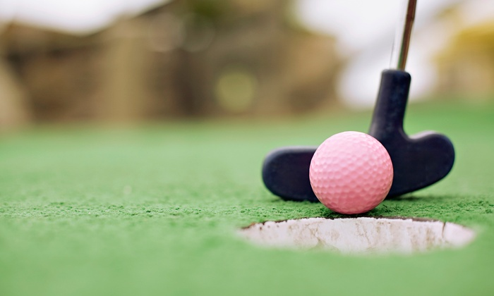 Loeschner's Village Green Family-Style Miniature Golf - Westside Connection: Mini Golf for 2, 4, or 6 at Loeschner's Village Green Family-Style Miniature Golf in Grandville (Up to 50% Off)