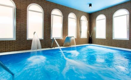 Caldes de Malavella: estancia para 2 con desayuno y opción a media pensión y spa en Hotel Balneario Vichy Catalán