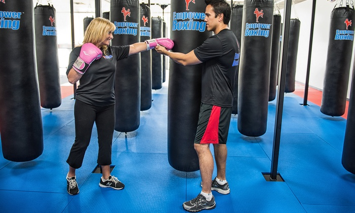 Empower Boxing - Empower Boxing: $29 for Two Weeks of Unlimited Classes with Hand Wraps and Access to Weight Room at Empower Boxing ($129 Value)