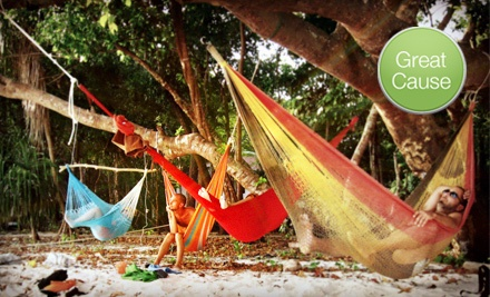 Hand-woven Hammock from Yellow Leaf Hammocks (Up to 42% Off). Two Sizes Available.