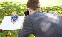 """Newborn Photoshoot for Up to 12 with Five 7"""" x 5"""" Prints at Alex Styles Photography (93% Off)"""