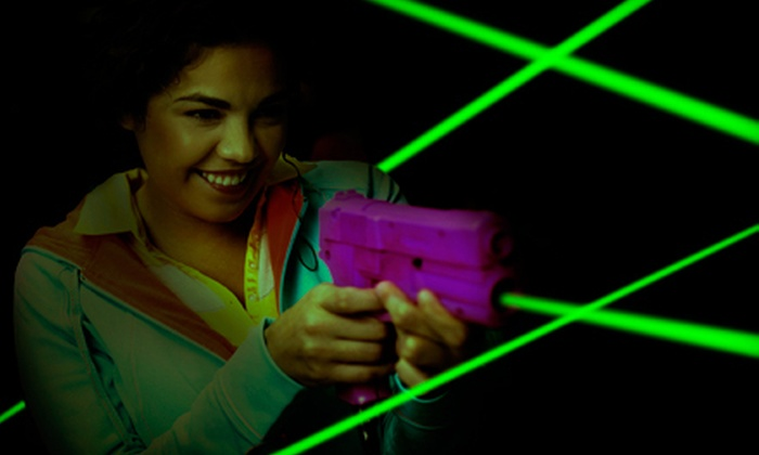 Lazer X - Arden - Arcade: $20 for Laser Tag for Up to Four with Café and Arcade Credits at Lazer X (Up to $78 Value)