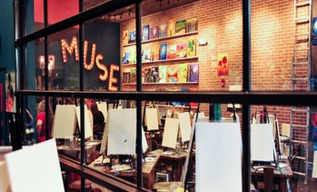 49% Off Painting Event at Muse Paintbar
