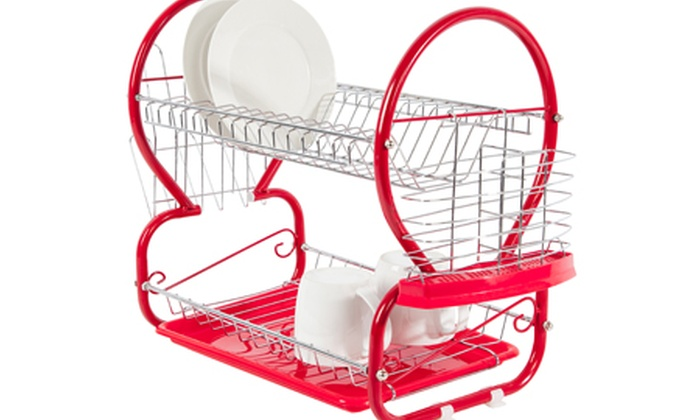 Dish Drainer Groupon Goods