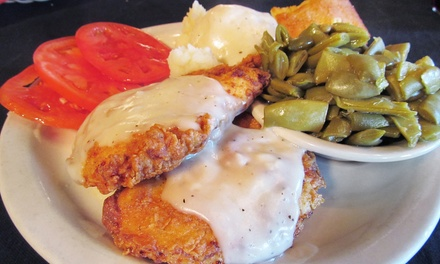 $10 for $16 Worth of Farm-to-Table Comfort Foods and Drinks for Two at The Moose Cafe