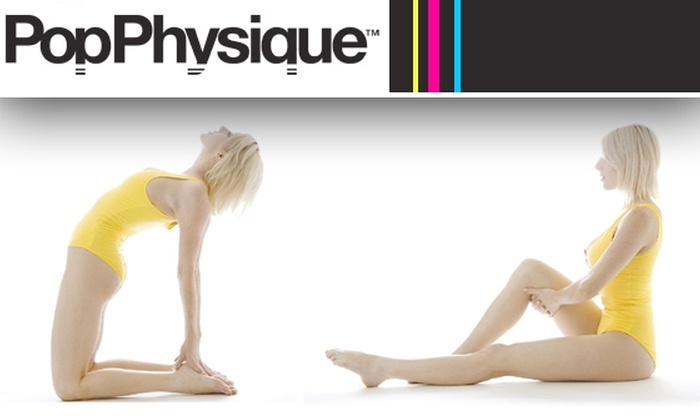 Pop Physique - Multiple Locations: $20 for Three Fitness Classes at Pop Physique ($60 Value)