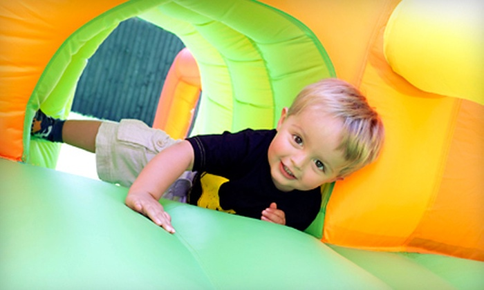 Jungle Jimmy's - Muskego: Two or Four Bounce-House Visits or a Birthday Party for Up to 24 Kids at Jungle Jimmy's in Muskego (Up to 53% Off)